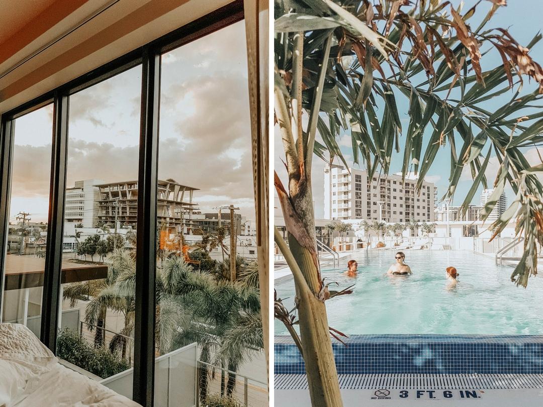 Voyage à Miami Beach entre copines, hotel avec 5 lits