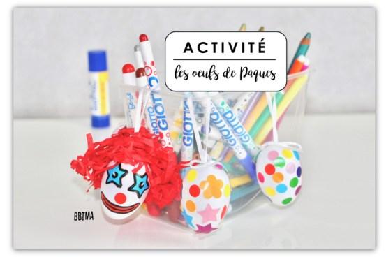 Activités DY et bricolages pour les enfants à Pâques #DIY #Pâques #kids