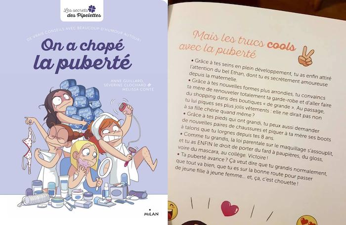 Polémique autour du livre sur la puberté des Editions Milan