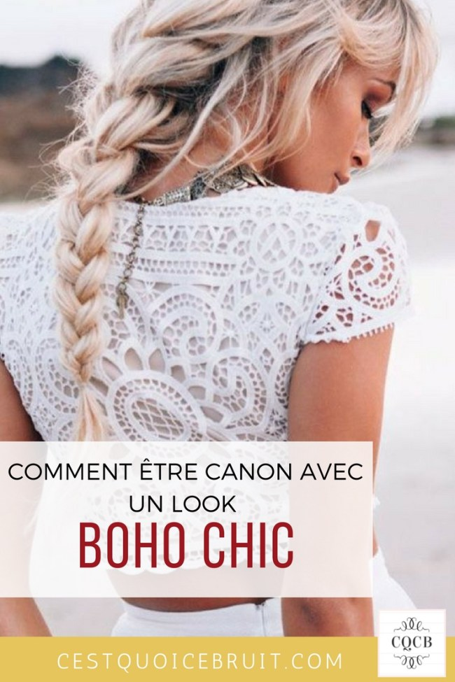 Adopter le look boho chic #mode #boho #chic #cheveux #tendance #look