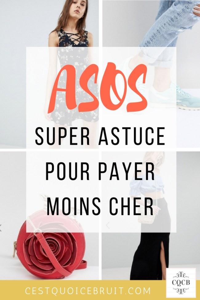 Super astuce pour payer moins cher chez Asos et faire des économies #asos #bonplan #astuce #mode