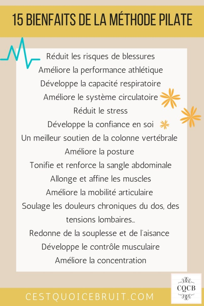 Quels sont les bienfaits des Pilates #pilates #sport #healthy #feelgood