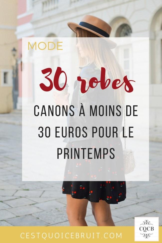 30 robes à moins de 30 € pour le printemps #robes #printemps #shopping #asos #féminité #curve