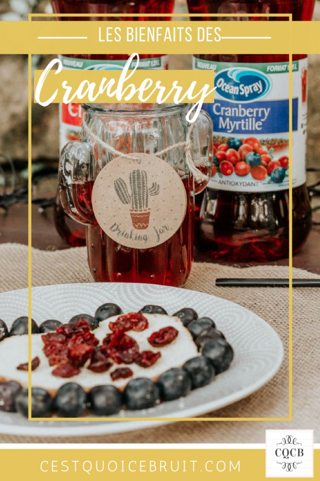 Les vertus de la cranberry #fruit #cranberry #healthy #superfruit #food
