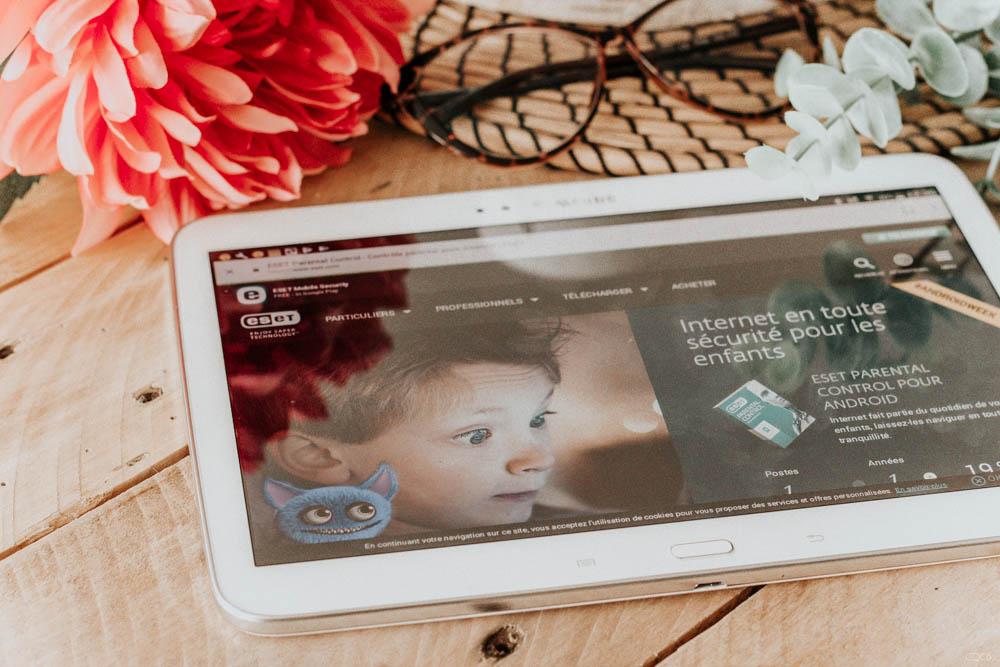 Sécurité des enfants sur internet, utiliser le contrôle parental ESET