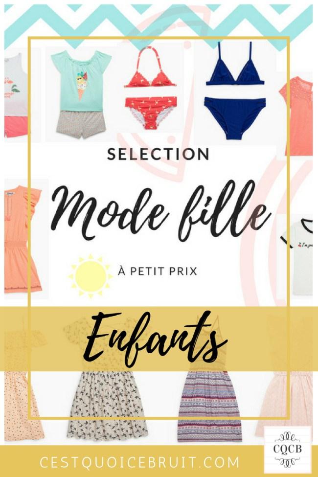 Sélection mode fille à petit prix #mode #kids #enfants #bonplan