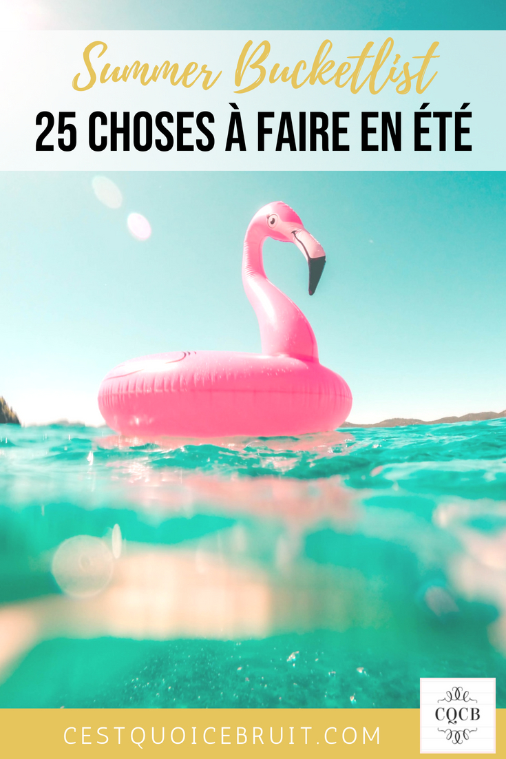 Summer bucketlist, ces choses que j'ai envie de faire en été #summer #bucketlist #feelgood #zen