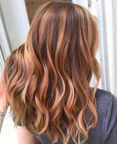 Coloration tendance 2018 cuivré blond