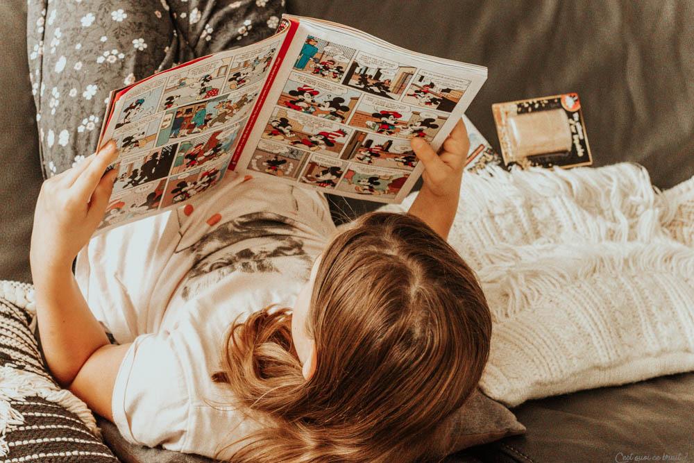 Parents, choisir un magazine jeunesse pour son enfant : ma fille lit Picsou Magazine