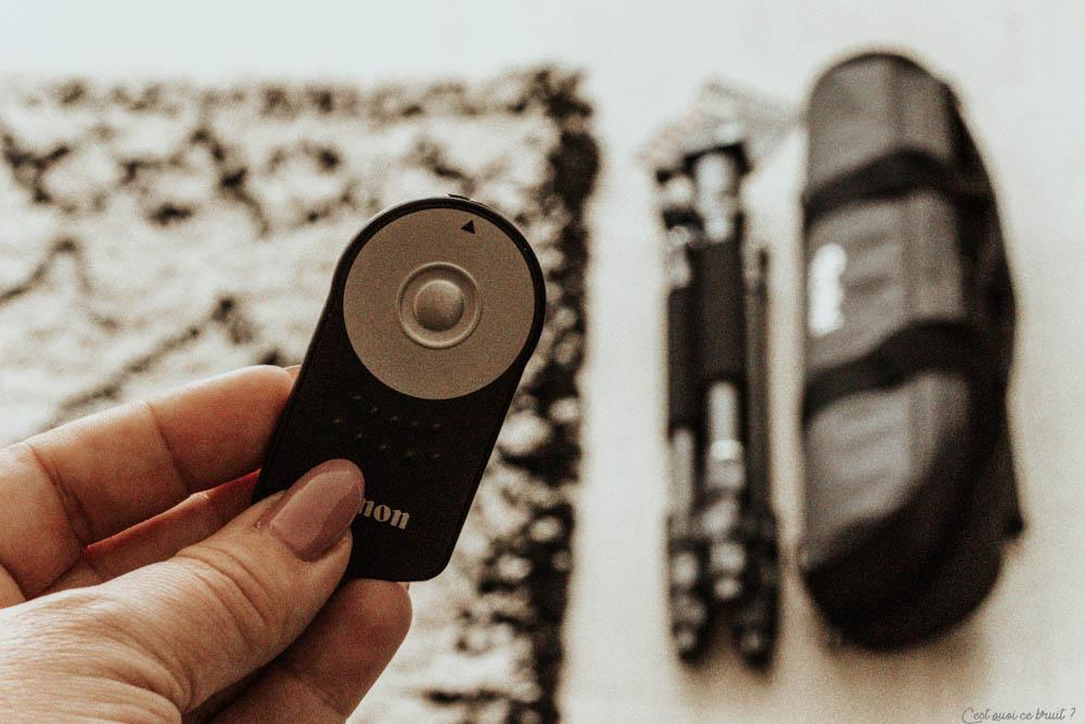Réussir les photos sur son blog avec une télécommande pour appareil photo
