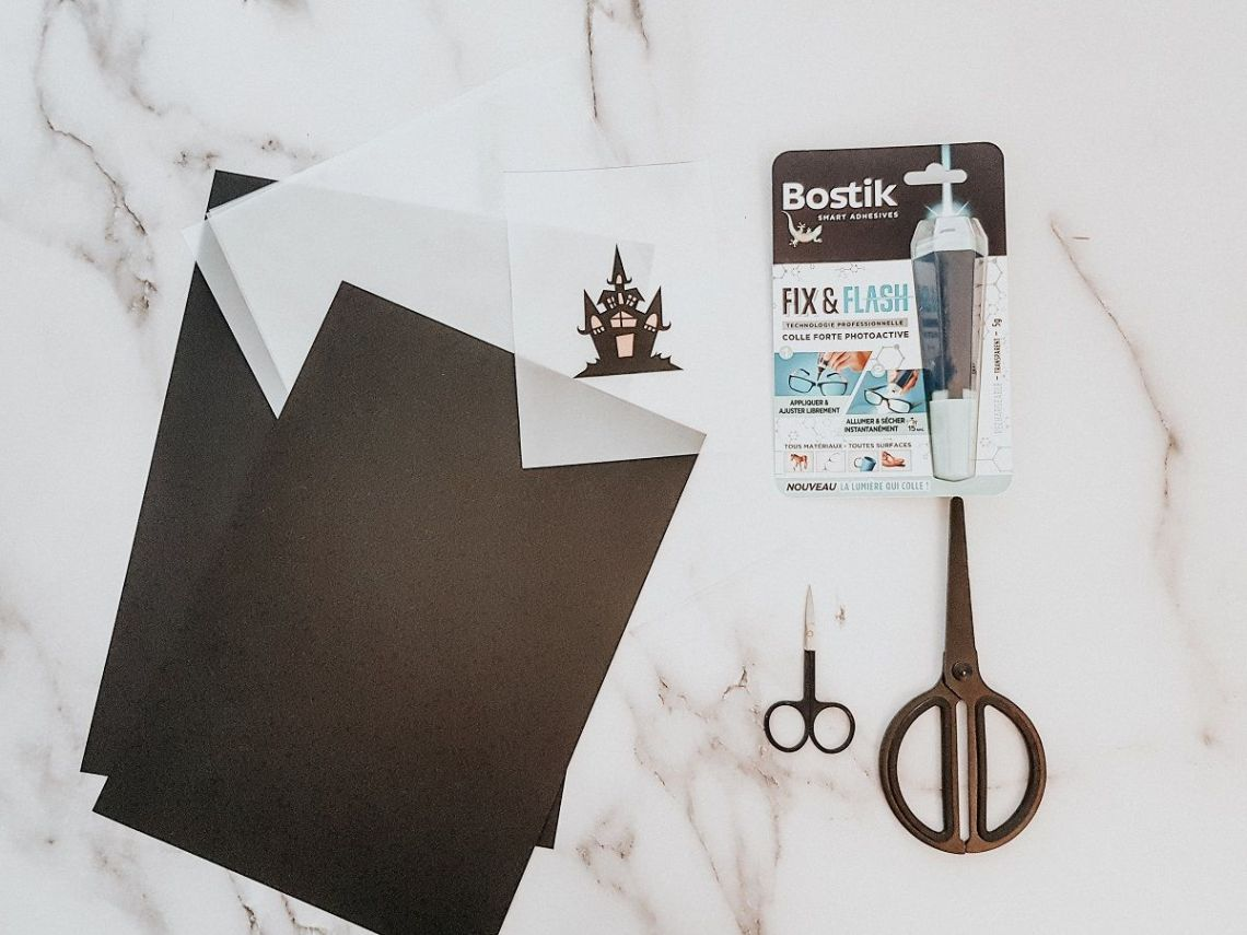DIY Lanterne d'Hallowenn facile à réaliser avec la colle Bostik