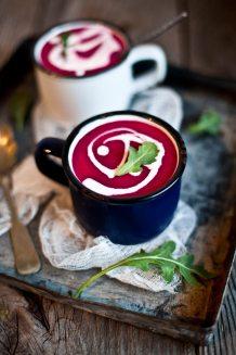 Recette de soupe de betterave #recette #recipe #food #betterave #soupe
