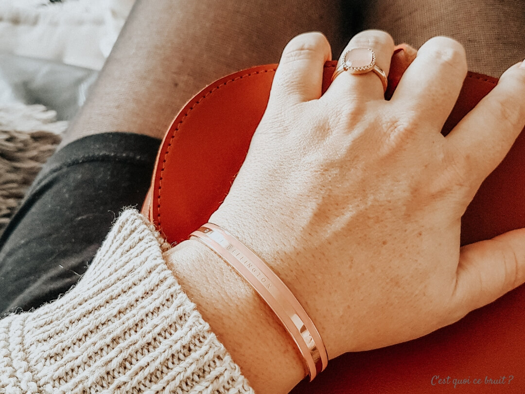 Bracelet rose Daniel Wellington