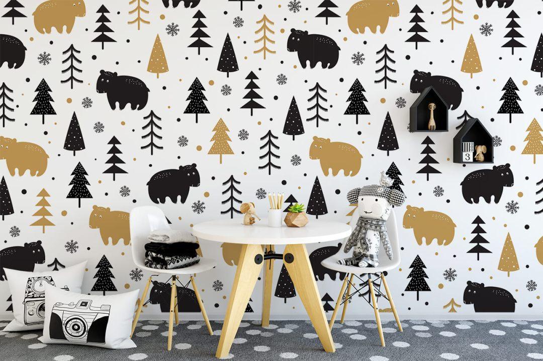 Relooker une chambre d'enfants avec du papier peint