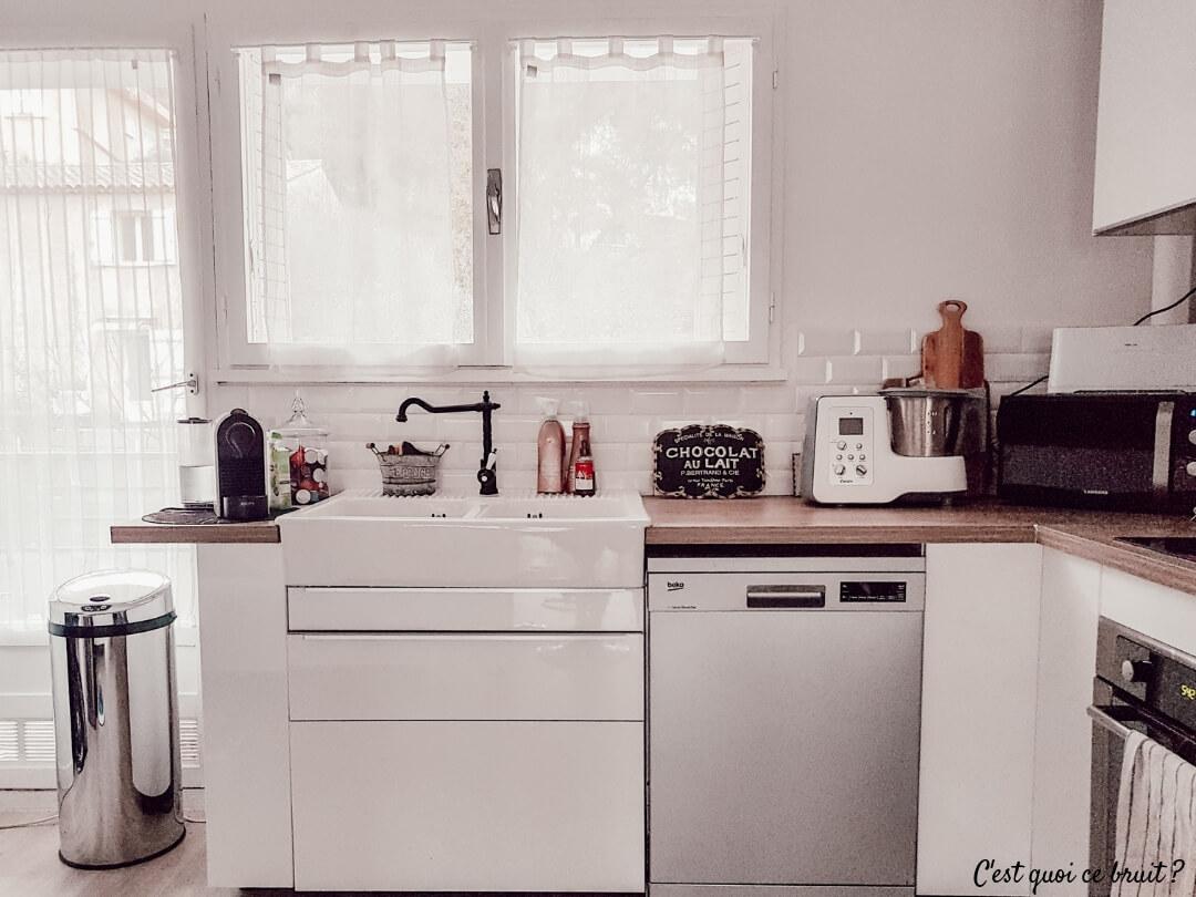 Décoration cuisine : un évier à poser