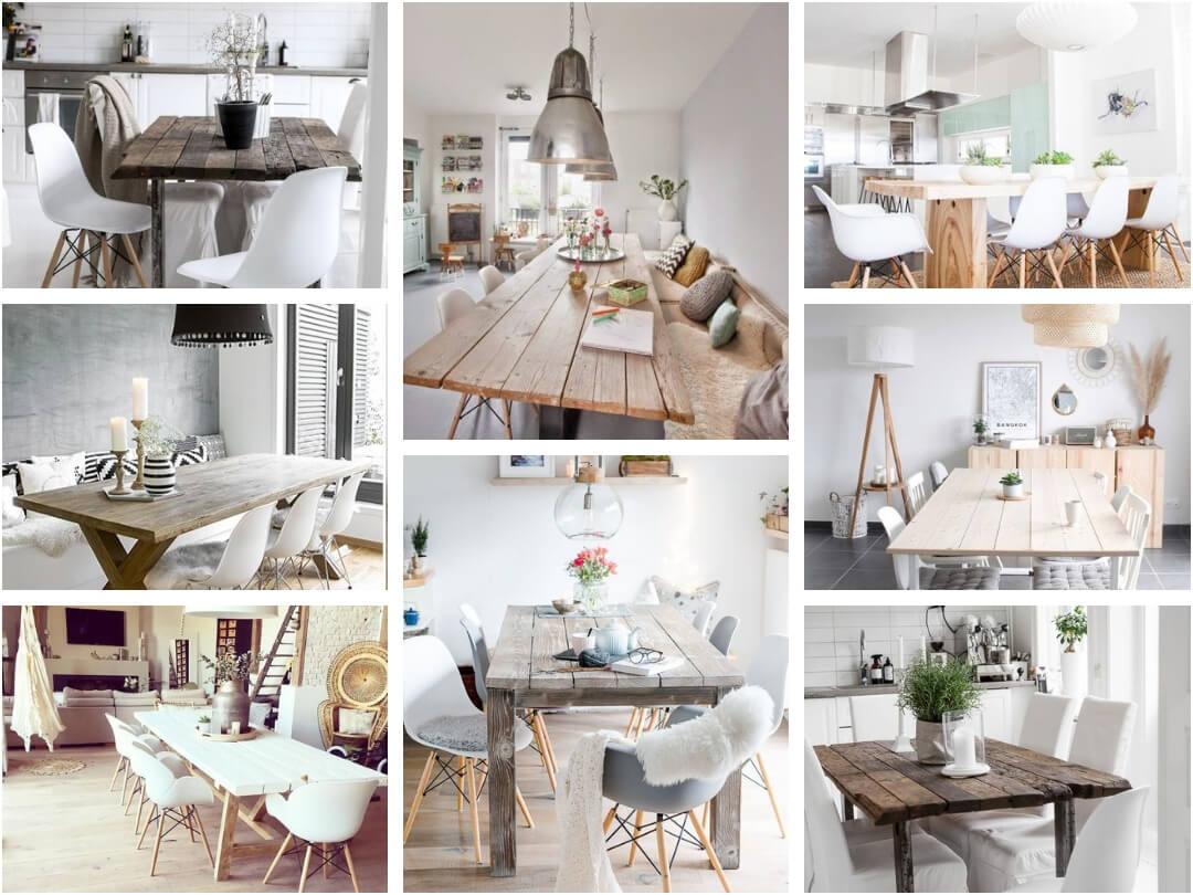 Moodboard déco : une belle table de salle à manger