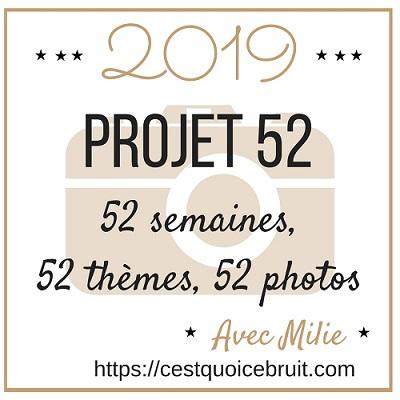 Projet 52 2019, défi photo à relever en s'amusant sur Instagram