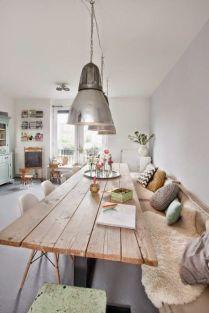 Blog déco Inspiration table de salle à manger en bois #déco #décoaddict