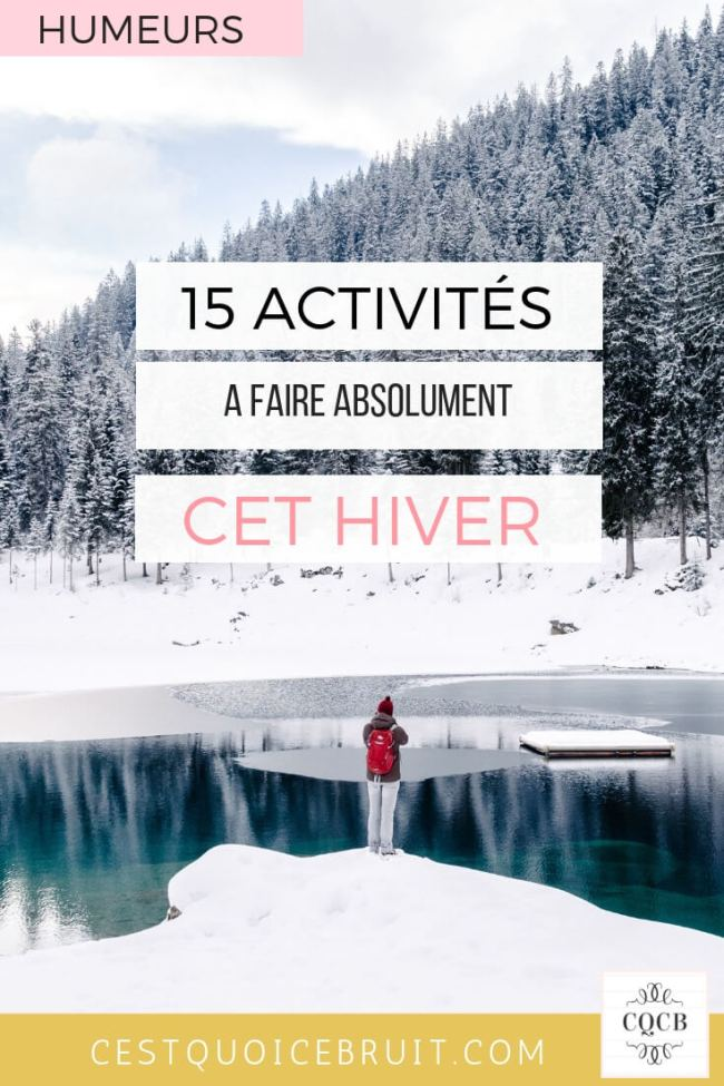 To do list hiver, mes activités feel good #hiver #inspiration #feelgood #winter #todolist
