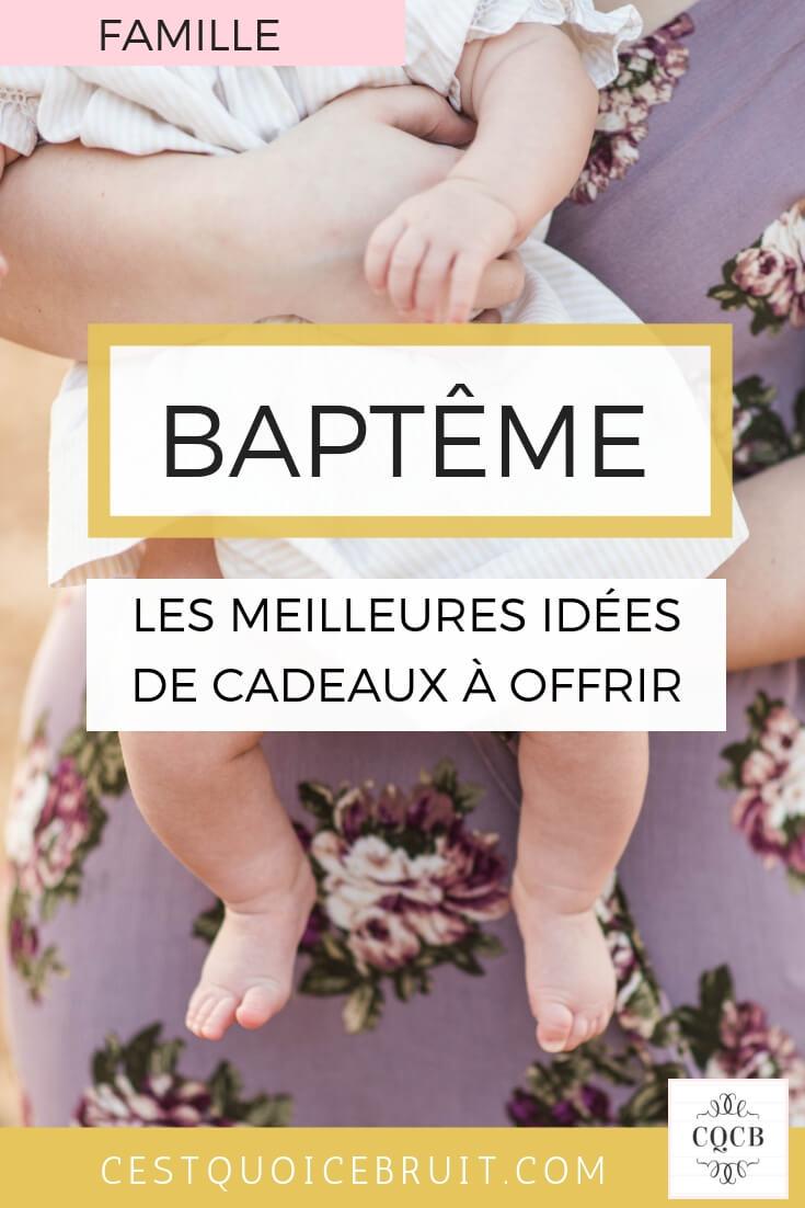 Baptême : les meilleurs idées de cadeaux à offrir pour un baptême religieux ou civil #bapteme #famille #kids #cadeaux #baptism