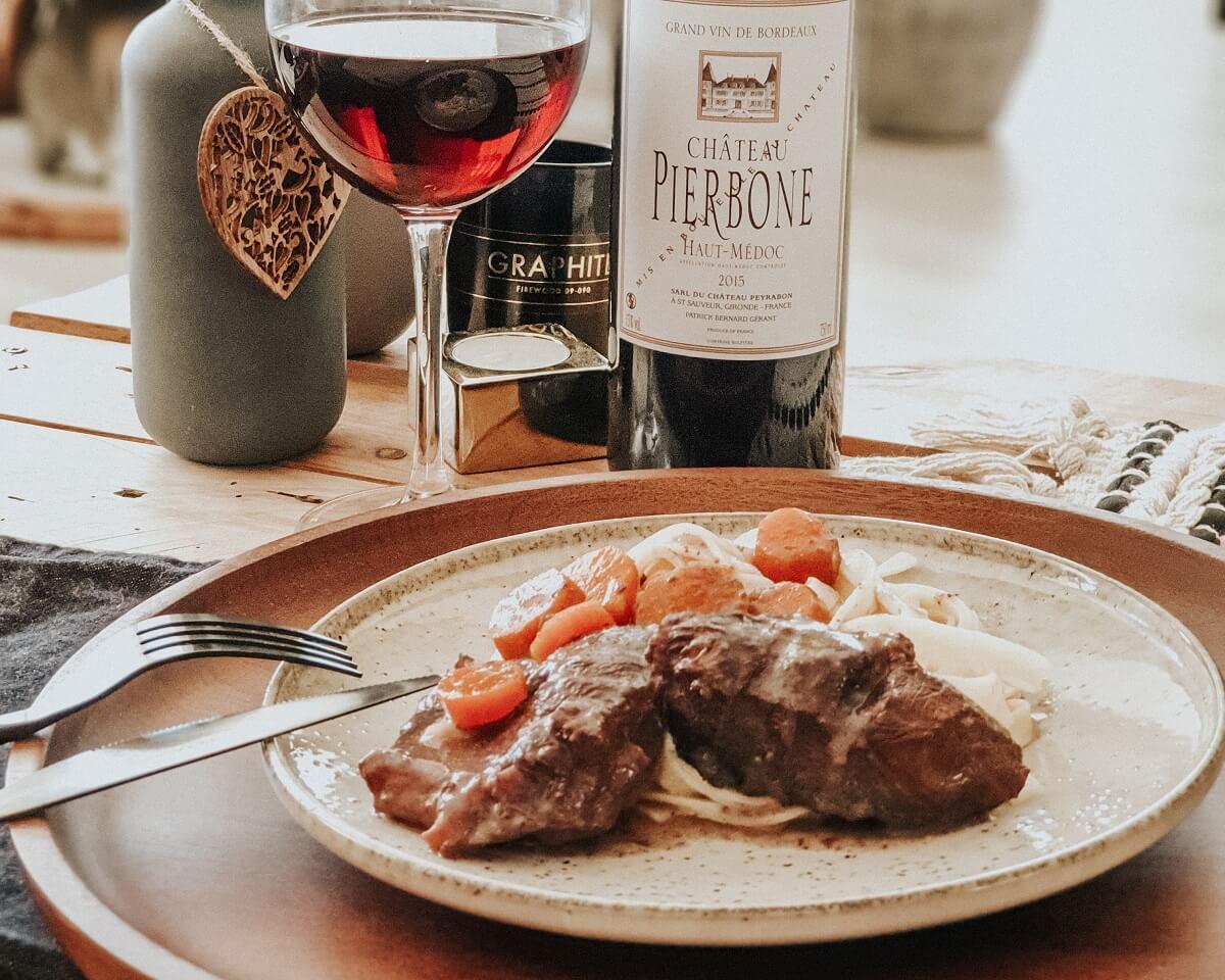 Ma daube provençale et son vin #concours