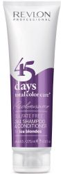Avis shampoing Revlon 45 days sans sulfates