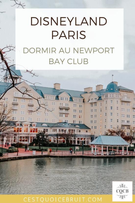 Disneyland Paris : dormir au Newport Bay Club en famille #disney #disneyland #disneylandparis #newportbayclub #familytrip
