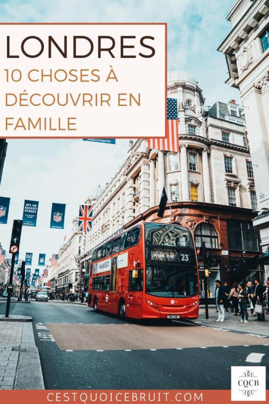 Londres, 10 choses à découvrir en famille #citytrip #londres #voyage #london #blogvoyage #travel