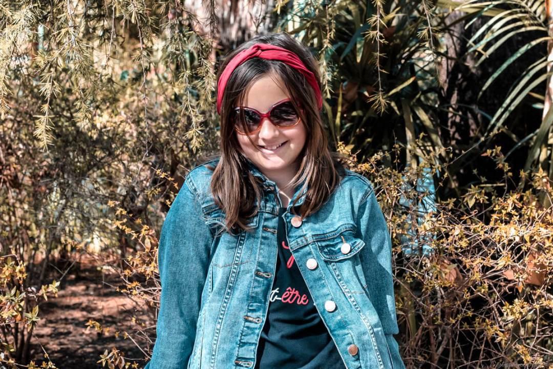 Shooting fille printemps 2019 au parc Olbius Riquier (Var)