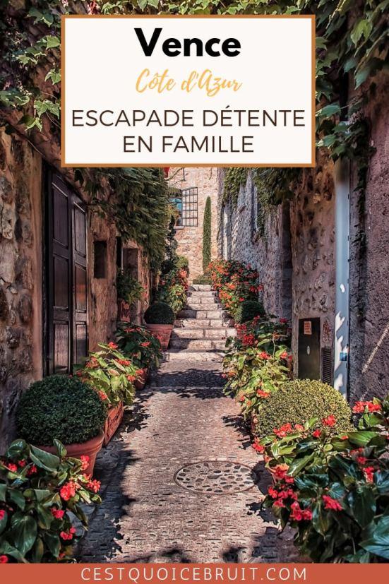 Séjour en famille à Vence, sur la Côte d'Azur (France) : Hôtel Cantemerle et son spa ouvert aux enfants #voyage #famille #vence #cotedazur