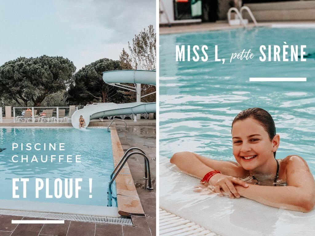 Vacances en famille dans le Var, notre séjour chez Sandaya Douce Quiétude, la piscine chauffée et le toboggan