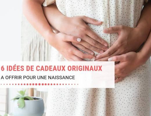 6 idées de cadeaux de naissances originaux à offrir à bébé ou aux parents