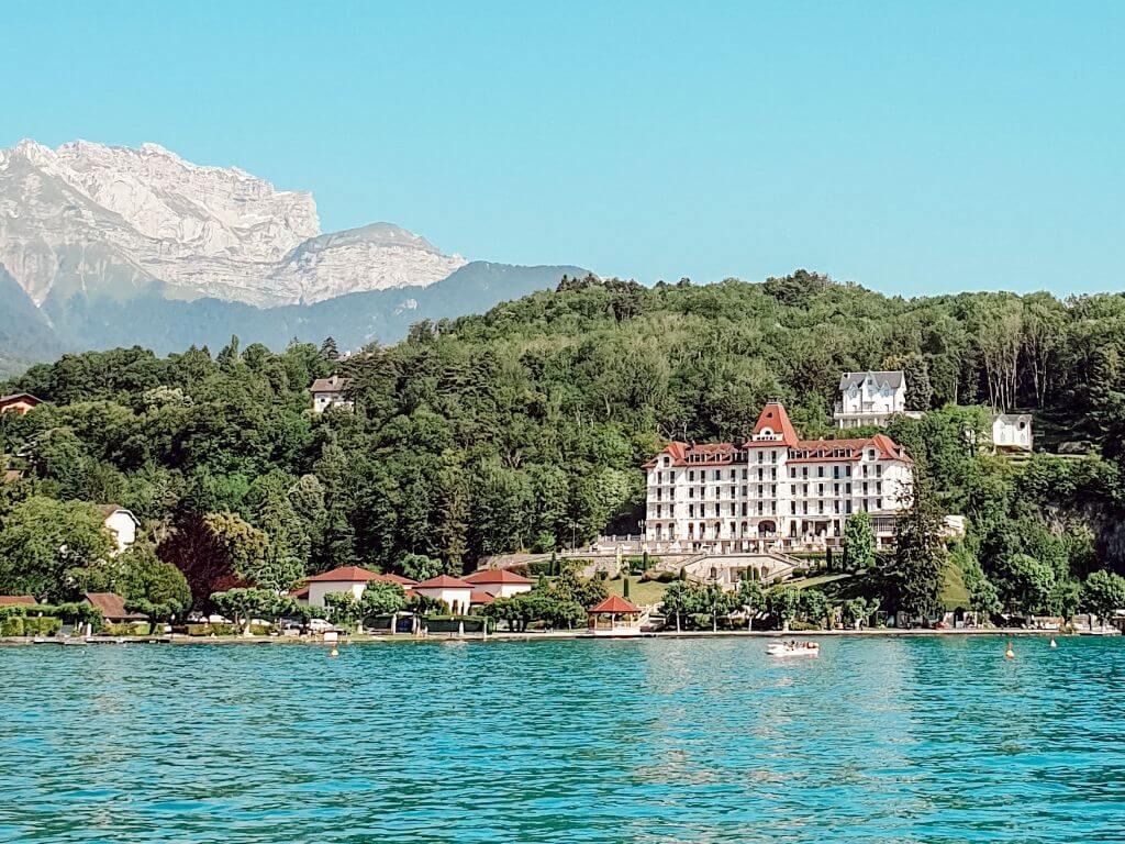 Lac d'Annecy, blogtrip en famille