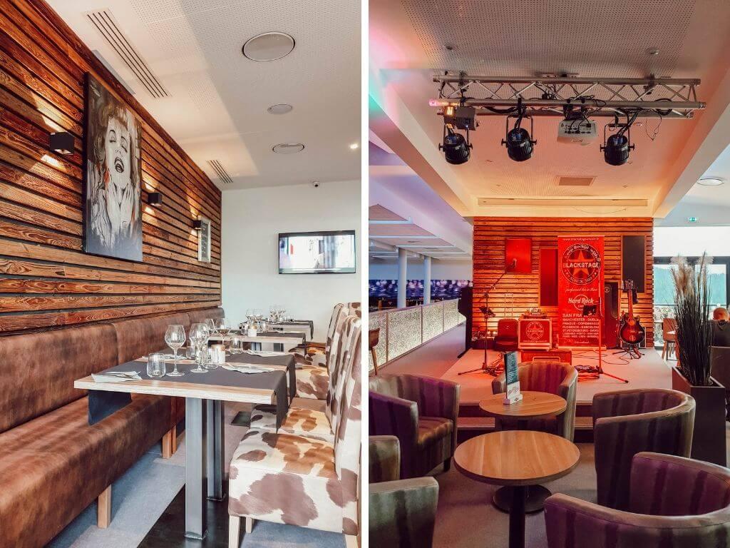 Salle de restaurant Le Signal, Les Saisies