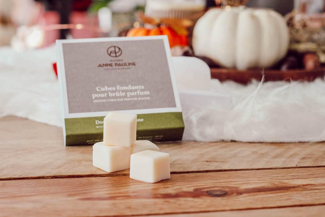 Cubes fondants parfumés pour avoir de douces senteurs d'automne à la maison
