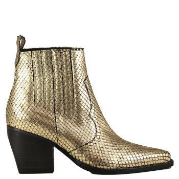 Boots dorées pour cet automne
