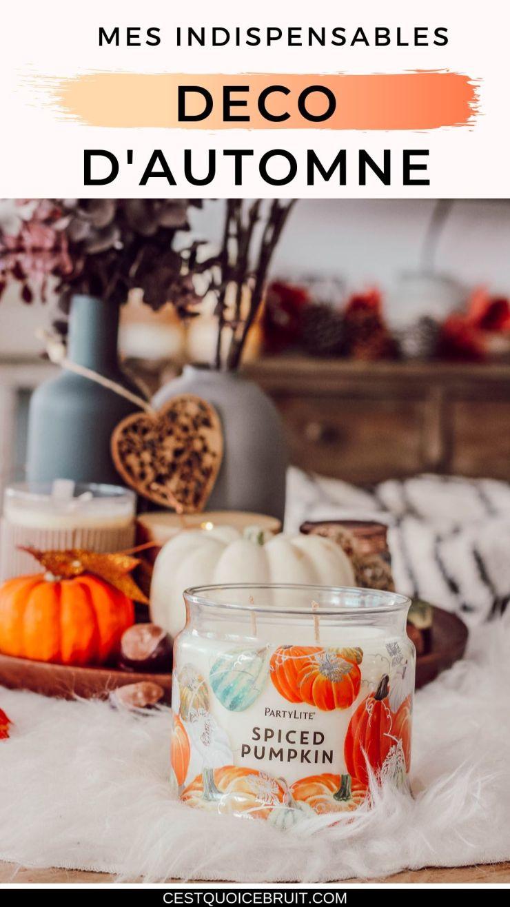 Mes indispensables pour un automne cosy à la maison #décoration #automne #cosy #hygge #interior #autumn #feelgood