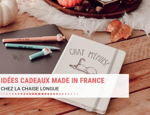 Idées cadeaux Made In France pur Noël chez La chaise longue