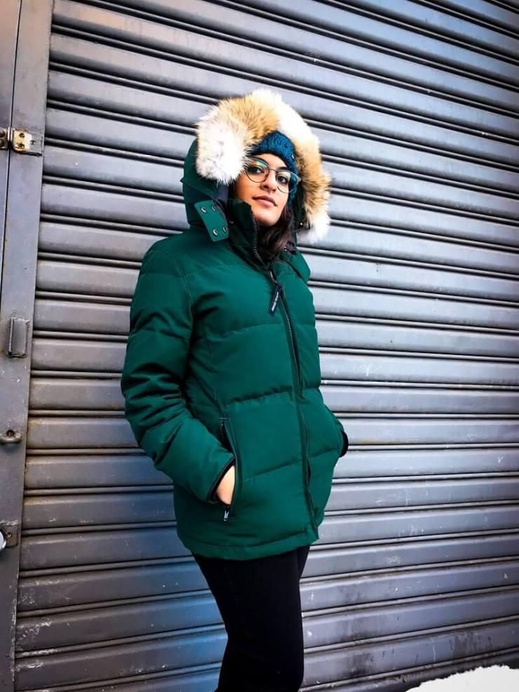 Porter une parka, tendance hiver 2019 2020 #manteau #tendance #mode #fashion