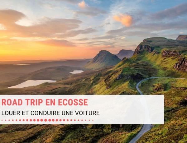 Organiser son road trip en Ecosse ; louer une voiture et la conduire : astuces pour la location, single track road et conduite à gauche. Photo Ile de Skye.
