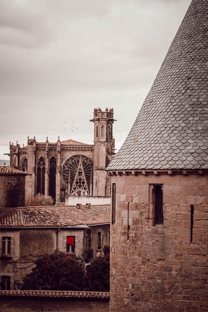 Visite de la cité de Carcassonne en famille