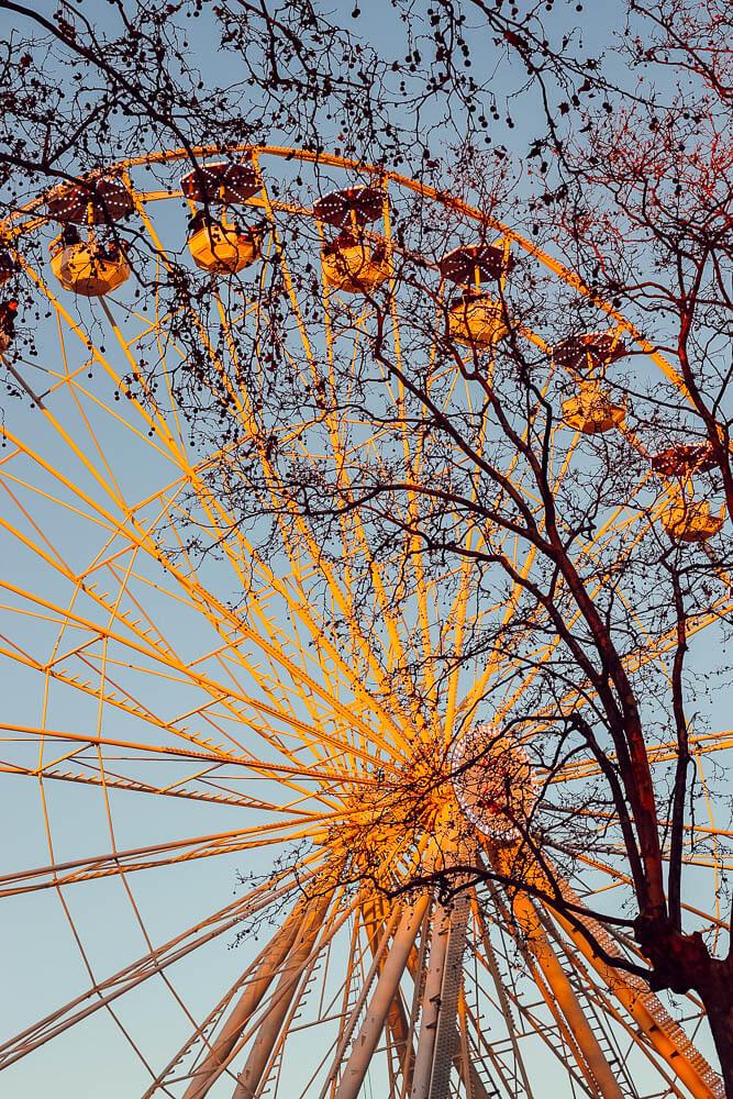 Grande roue de Carcassonne (blogtrip famille pour Noël)