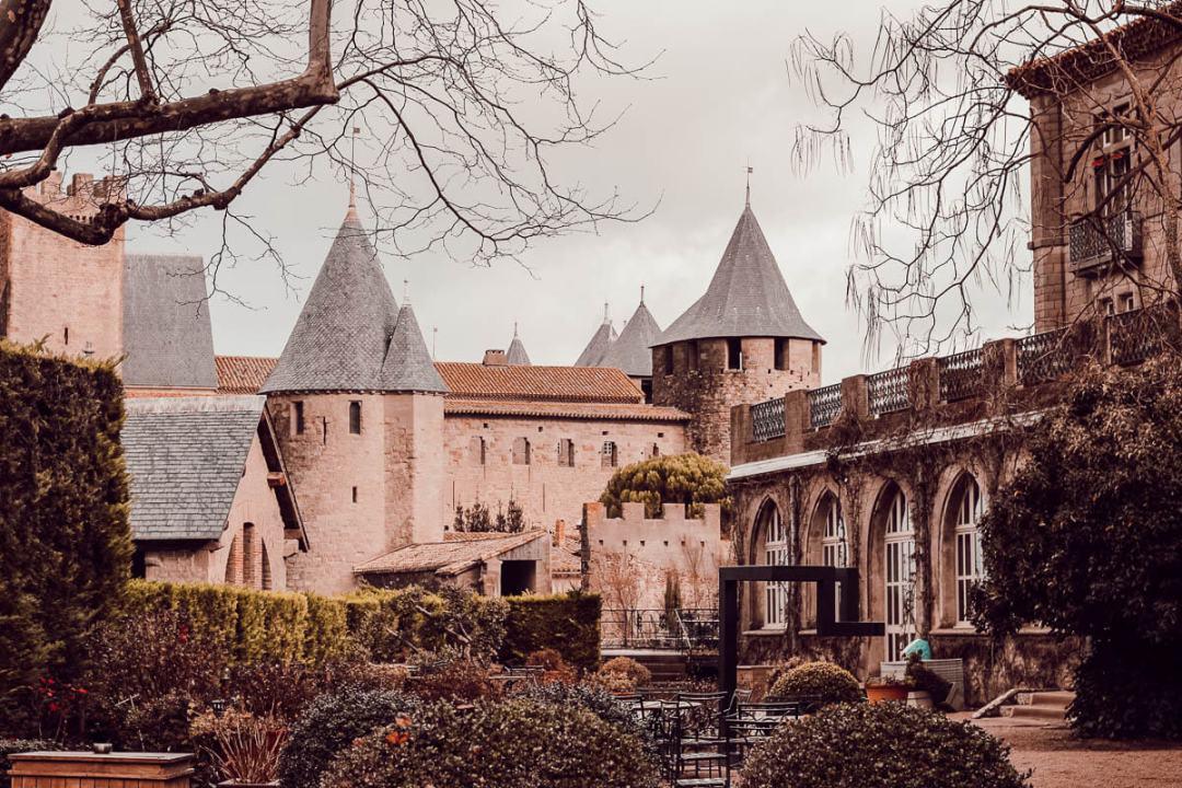 Carcassonne depuis l'Hôtel de la cité