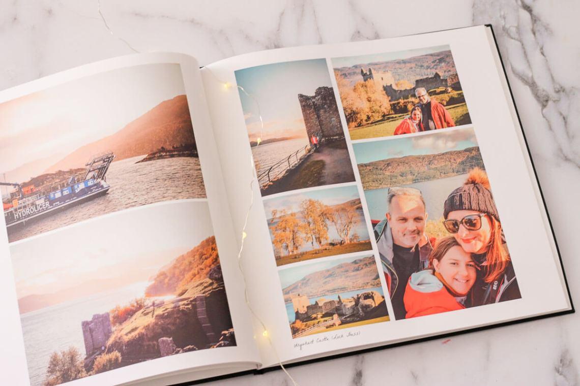 Garder un souvenir de notre road-trip en famille en Ecosse avec un livre photo