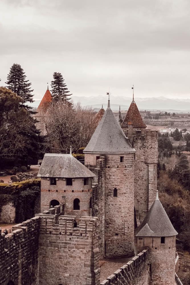 Visiter la cité Carcassonne en famille
