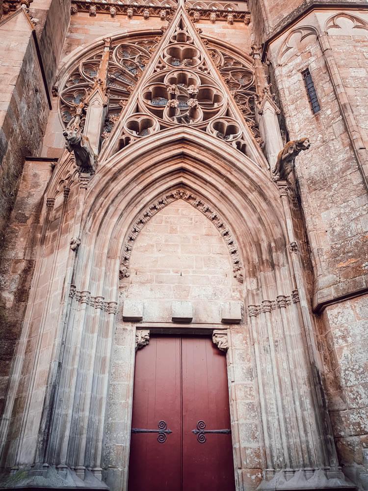 Basilique Saint Nazaire de la cité de Carcassonne