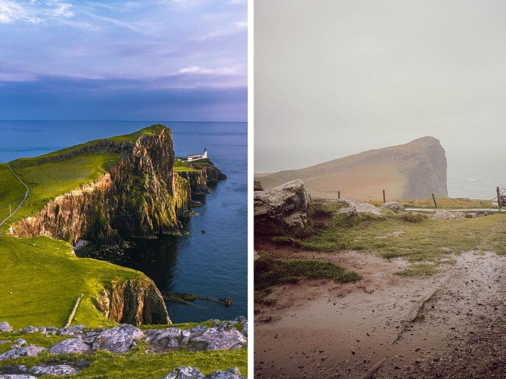 Phare de Neist Point, sur l'Île de Skye