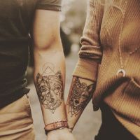 15 idées de tatouage à faire en couple