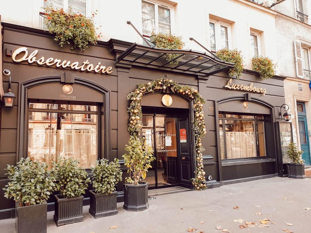 L'Hôtel Observatoire Luxembourg, une bonne adresse pour un week-end en famille à Paris