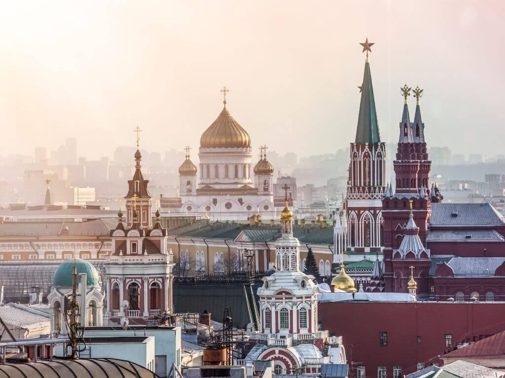 3 choses à faire pendant un voyage en Russie : Moscou